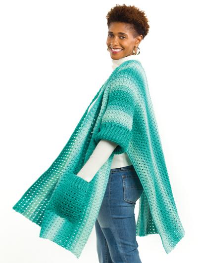 Gentle Breeze Kimono Crochet Pattern