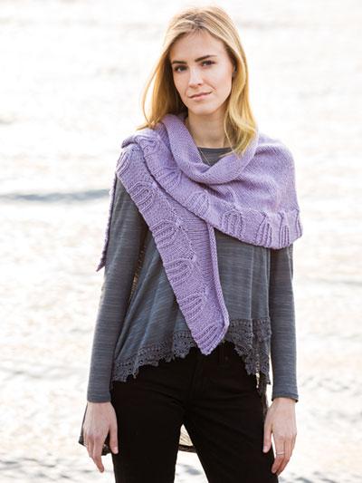 Knitting Patterns Supplies Crescent Shawl Knit Pattern