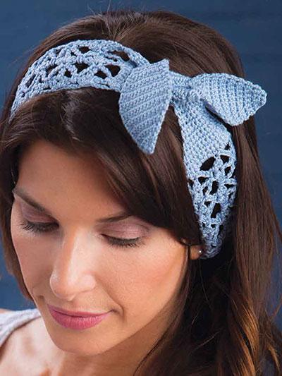 New Crochet Patterns - Breezy Head Wrap