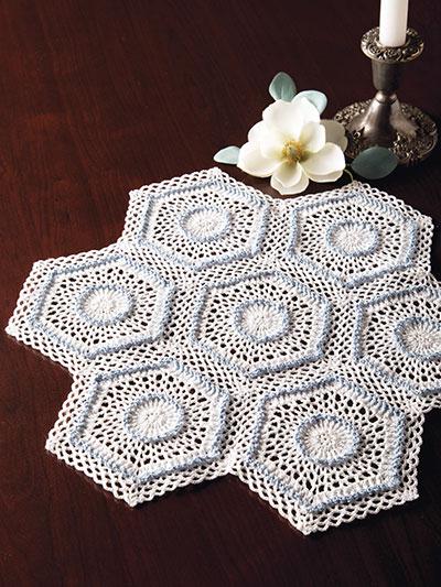 Crochet Doily Patterns Celebration Doily Crochet Pattern