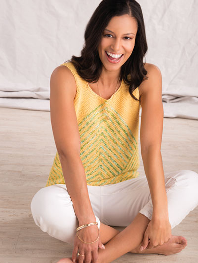 Easy Bertram Tank Top Knitting Pattern