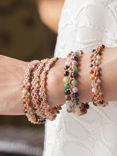Crochet Jewelry Beading Turkish Crochet Bracelets Watchband