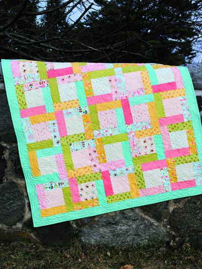 Beginner Quilt Patterns Happy Day Quilt Pattern