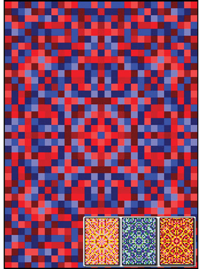 Tapestry Mandala Quilt Top Pattern