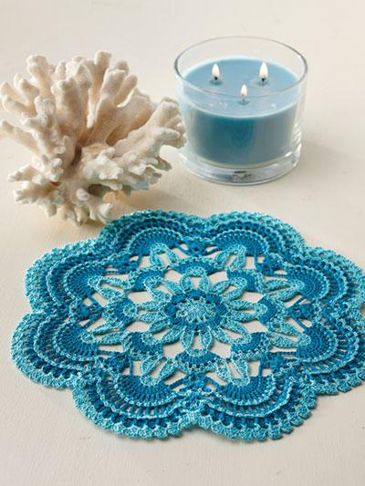 Crochet Patterns Doily Afghans
