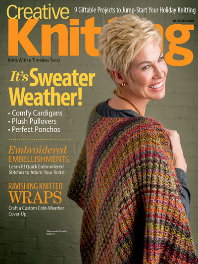 Creative Knitting Magazines Creative Knitting Autumn 2018