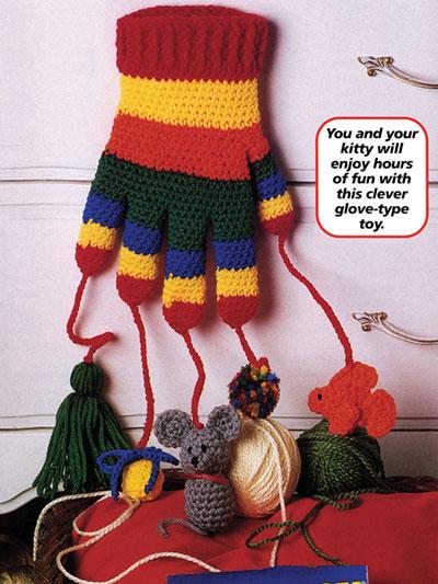 Crochet Patterns Out Of Print Patterns Kitten Mitten
