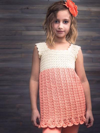 Baby Kids Crochet Patterns Avas Top Crochet Pattern