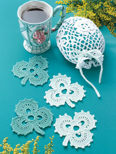 Crochet Patterns Out Of Print Patterns Irish Coasters Lace