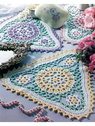 Crochet Doily Patterns Patio Garden Doilies