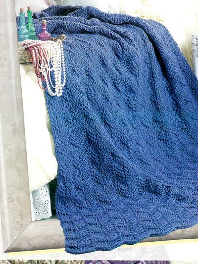 Tunisian Crochet Patterns Knit Purl Ripple Afghan Crochet Pattern
