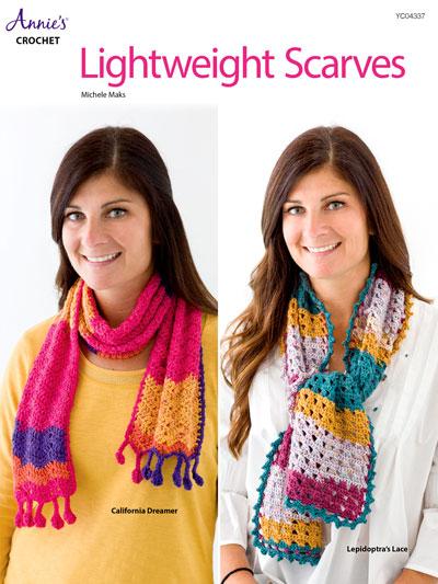 Crochet Scarf Patterns Lightweight Scarves