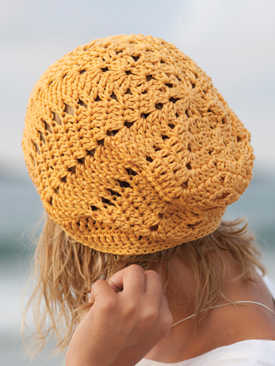 f363ea24e15 New Crochet Patterns - Chevron Slouchy Hat Crochet Pattern
