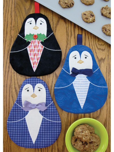 New Sewing Patterns Tux Hot Pad Sewing Pattern