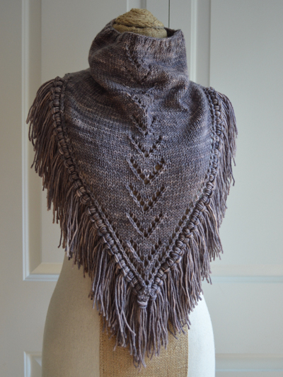New Knitting Patterns Boho Bandana Knit Pattern
