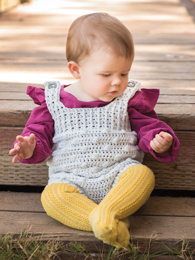 New Crochet Patterns Annies Signature Designs Lil Rascal Romper
