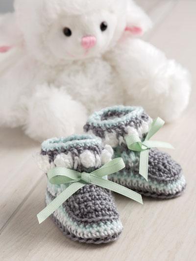 Crochet Baby Booties Patterns Crochet Baby Socks Patterns Page 1