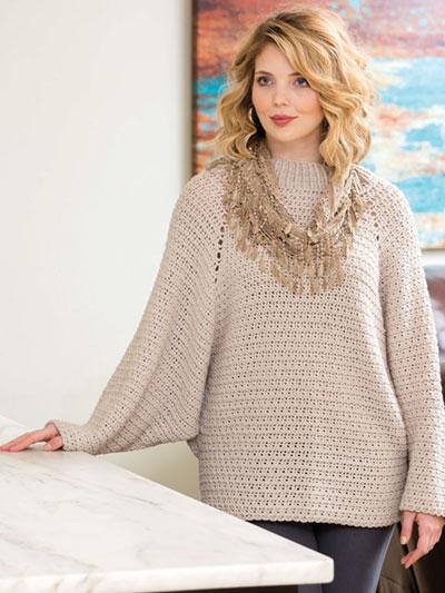 58fb5ac97 Crochet Pullover Patterns - Cobblestone Pullover Crochet Pattern