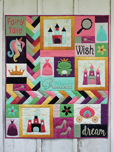 Applique Baby Kids Patterns Fairy Tale Princess Quilt Pattern New Quilt Patterns For Boys