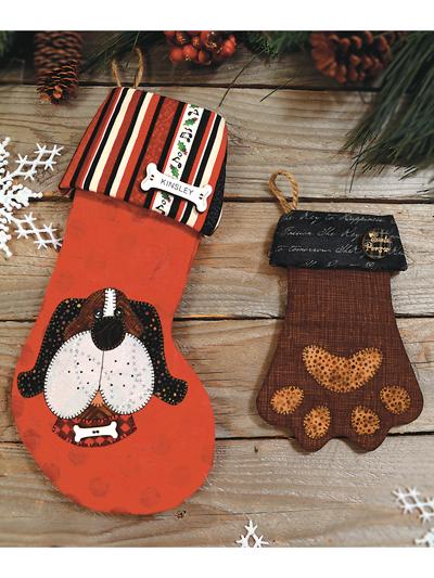 Dog Stocking Pup Glove Sewing Pattern