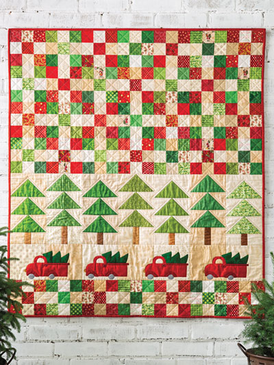 Exclusively Annies Quilt Designs Tree Time Quilt Pattern