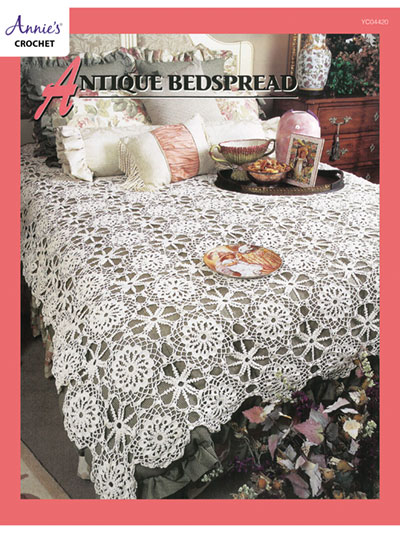 Crochet Patterns Out Of Print Patterns Antique Bedspread