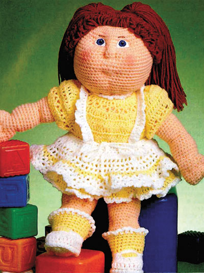 Debbie Ann's Pinafore Dress Crochet Pattern