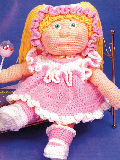 Debbie Ann's Play Suit Crochet Pattern