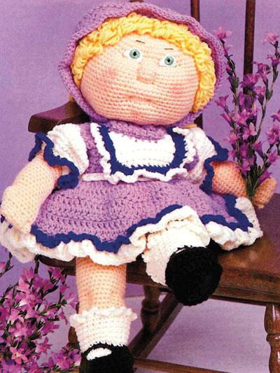 Debbie Ann's Lavender & Lace Crochet Pattern