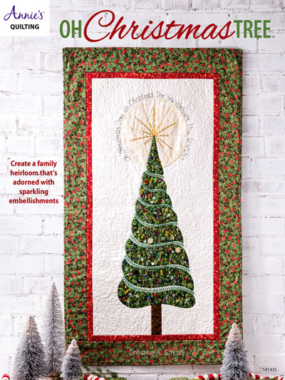Embroidered Quilt Patterns Oh Christmas Tree