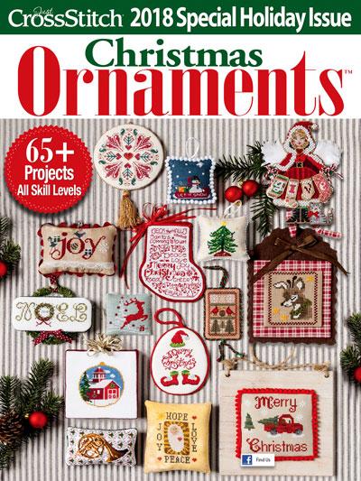Just CrossStitch<br /> Ornaments 2018