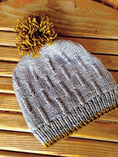 Knitting Patterns Supplies Snowfall Beanie Knit Pattern