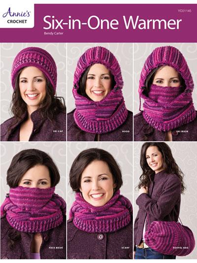 Six-In-One Warmer Crochet Pattern