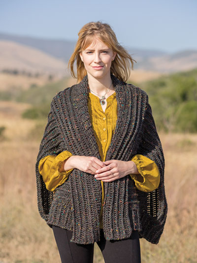 New Crochet Patterns Annies Signature Designs Just Me Shrug
