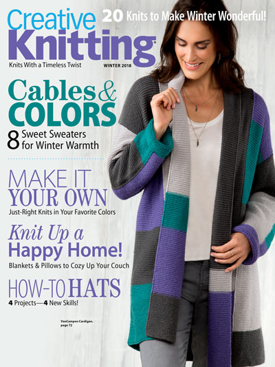 Creative knitting winter 2018
