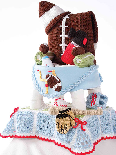 Time Out! Diaper Cake Crochet Patterns