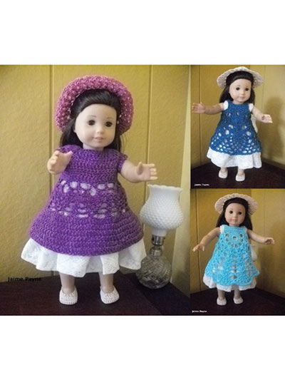 Doll Clothes - Free Crochet Pattern · The Magic Loop | 533x400
