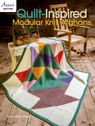 Knitting Patterns Supplies Quilt Inspired Modular Knit Afghans
