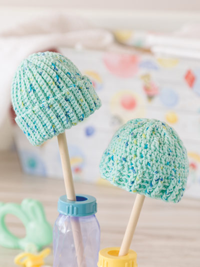 Caps for Preemies Crochet Kit