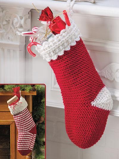 Holiday Stockings Crochet Pattern