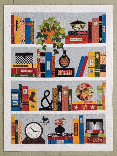 EXCLUSIVELY ANNIES QUILT DESIGNS The Bookcase Quilt Pattern