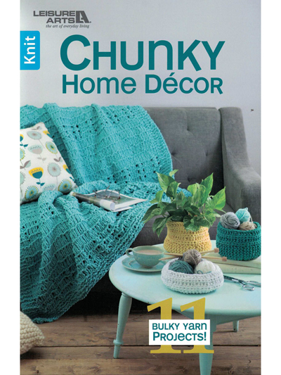 Easy Home Decor Knitting Patterns Chunky Home Decor Knit Pattern Book