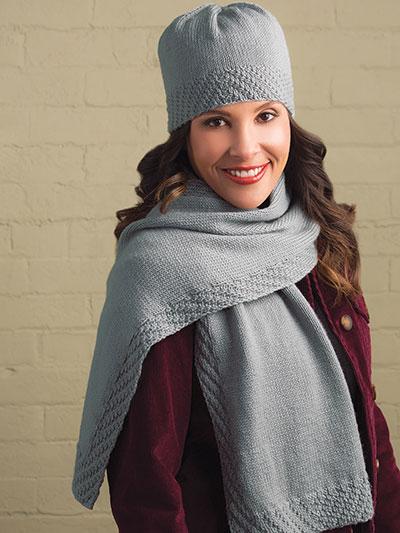 Hats Gloves Knit Patterns Earl Grey Hat Scarf Knit Pattern