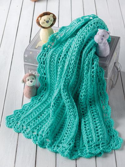 Crochet Baby Kids Downloads Swinging On A Star Baby Blanket