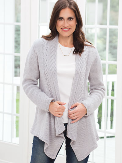 56a212741a7ba2 Clothes Knitting Downloads - Vivacious Hi-Lo Pullover Knit Pattern