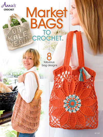 Market Bags To Crochet Pattern Book