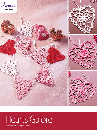 Hearts Galore Crochet Pattern