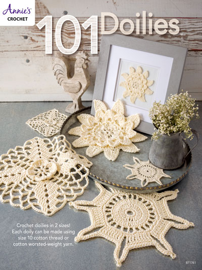 Crochet Patterns 101 Doilies Crochet Pattern Book