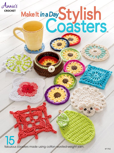 Make It In A Day: Stylish Coasters Crochet Patterns