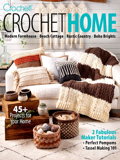 Crochet Home crochet patterns for the home